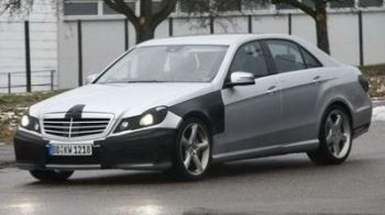 I-au prins: Primele poze spion cu Mercedes-Benz E63AMG!