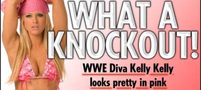 Kelly Kelly lasa wrestlingul pentru box-ul in ipostaze super fierbinti!