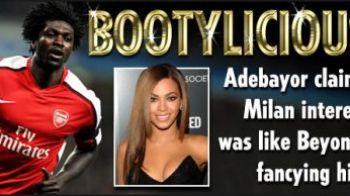 """Adebayor: """"Interesul lui AC Milan pentru mine a fost ca si cum s-ar interesa Beyonce de un pusti!"""""""