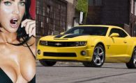Megan Foxprezinta Chevrolet Camaro Transformers Special Edition!