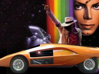 Vrei sa cumperi o masina a lui Michael Jackson? Lancia Stratos Zero, scoasa la licitatie!
