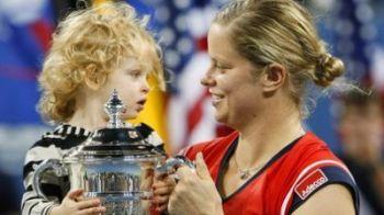 FOTO: Kim Clijsters, a treia mamica din istorie ce castiga un turneu de Grand Slam!