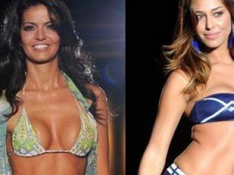VIDEO:Cea maiHOT jucatoare de tenis din Italia si bombele sexy Belen Rodriguez si Laura Torrisi, in costume de baie!