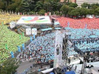 400.000 de oameni pentru ca Madrid sa fie gazda a JO 2016!