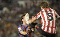 SOCANT! Messi, la un pas sa fie MUTILAT de crampoane! Cum si-a batut joc de Bilbao!