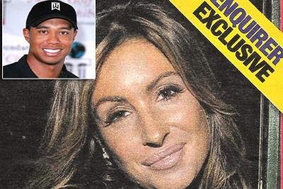 FOTO: Ea este femeia pentru care Tiger Woods a fost atacat cu crosa de golf de sotie!