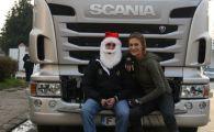Anul acesta, Mos Craciun vine cu...camionul!