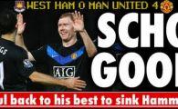 VIDEO /Manchester o distruge pe West Ham cu 4-0! United implicata in cel mai mare scandal financiar din Premier!