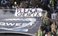 FOTO! Fanii Stelei au protestat impotriva luiGigi sub ochii lui Beckham!