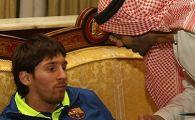 VIDEO / Barca, mai importanta ca un sef de stat la Abu Dhabi! Vezi cum au fost primiti Messi si Ibra: