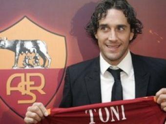 FOTO:Luca Toni a fost prezentat oficial la Roma!