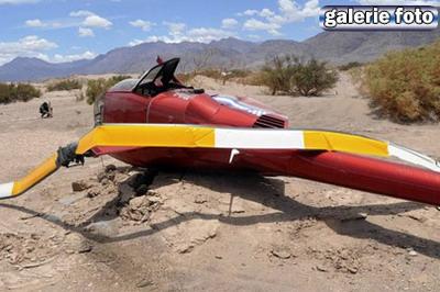 Elicopterprabusit la raliul Dakar: 4 raniti!