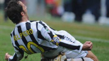 VIDEO / Del Piero, DUBLA la meciul 445 pentru Juventus!