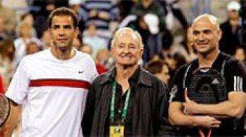 FOTO IMPRESIONANT! Indian Wells a inceput cu un meci pentru Haiti! Ce au facut Nadal si Federer