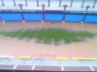 VIDEO! Cel mai mare stadion din lume e acum o PISCINA! Maracana a fost inundat