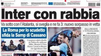 FOTO! Chivu, pe prima pagina a ziarelor din Italia, dupa golul FABULOS cu Atalanta!