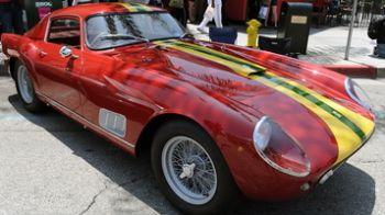 Superfoto! Expozitia Ferrari din Pasadena