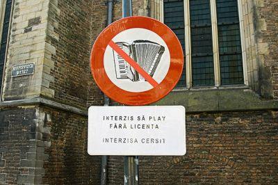 FOTO INCREDIBIL! Cum arata un indicator pentru ROMANI in Olanda!