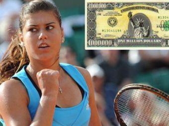 Ca la 20 de ani! Sorana Carstea este aproape de primul milion de dolari castigat din tenis!Transmite-i un mesaj de ziua ei: