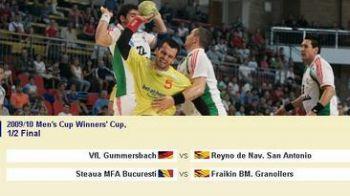 Steaua joaca cu Fraikin BM. Granollers in semifinalele Cupei Cupelor!