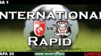 Prima victorie pentru Andone: Inter 1-2 Rapid (Bacila '9 / Grigorie '51, Sapunaru '57)