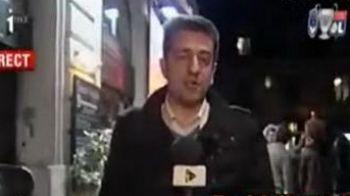 VIDEO / Cat de greu este sa fii reporter in ziua de azi! Iata ce a patit un jurnalist :))
