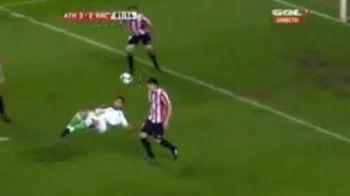 Ce Messi, ce Ronaldo? Vezi golul din foarfeca ce a uimit Spania in aceasta etapa!