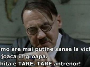 Hitler a aflat ca Steaua a pierdut derby-ul cu Dinamo!VIDEO: