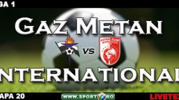 International a salvat un punct: Gaz Metan 0-0 International!