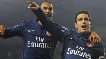 VIDEO / Jucatorii lui Arsenal in LACRIMI! Fabregas i-a dedicat golul lui Ramsey!