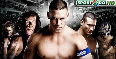 PREMIERA!AZI, ora 21:00 peSport.ro: Wrestlingul se vede in HD
