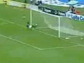 VIDEOSteaua ia lectii de aparare din Brazilia!Vezi super salvare!