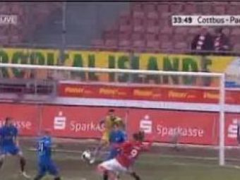 VIDEO Jula, super gol pentru Cottbus in liga a doua germana!