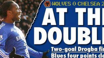Drogba rupe tot: 25 de goluri in acest sezon! Vezi dubla superba cu Wolverhampton!