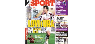 ProSport / Arsenal pentru titlu! Mazilu, aproape de Rapid!