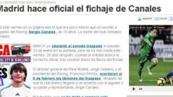 OFICIAL! Real Madrid l-a luat pe Canales! VIDEO: Vezi ce goluri stie sa dea