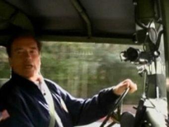 """Terminatorul"" Arnold Schwarzenegger va aduce flacara olimpica la Vancouver!"