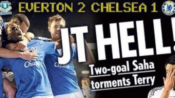 Chelsea KO:Saha a dat 2 super goluri si a ratat si un penalty!Everton 2-1 Chelsea!VIDEO: