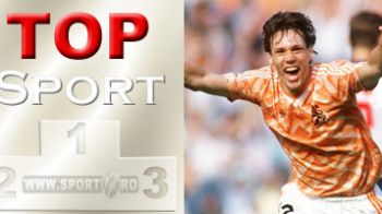 "Vezi ""golul imposibil"" al lui Van Basten in TOP 10 GOLURI la Europene"