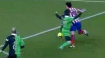 Scandal in Cupa Spaniei! Atletico Madrid a primit un penalty dupa un fault la aproape 2 metri de careu!