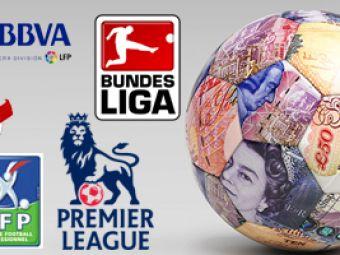 Bundesliga la putere, Primera in picaj: vezi TOPUL campionatelor din Europa!