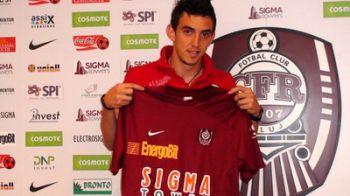 OFICIAL! Hora a semnat cu CFR Cluj!