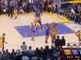 Ce poti face in 3 secunde?Sa castigi un meci in finala NBA!VIDEO
