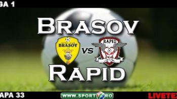 Salvati de Sapunaru! Brasov 1-1 Rapid!