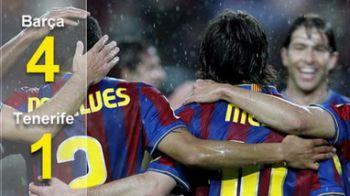 VIDEO Messi si Barca, de neoprit! Barcelona 4-1 Tenerife! Ii mai ajunge Realul?