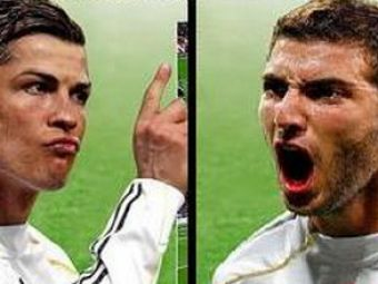 Ferfelea si Curelea ii copiaza pe Ronaldo si Higuain! Steaua si Rapid se bat pe ei!