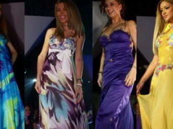 Femeile din viata fotbalistilor s-au intrecut in eleganta la un show de moda! GALERIE FOTO!