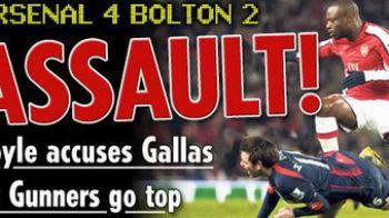 Revenire fantastica pentru Wenger Boys! Vezi bombele lui Arsenal cu Bolton!