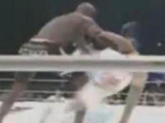 VIDEO:Iti iese o data in viata - vezi o faza INCREDIBILA din MMA