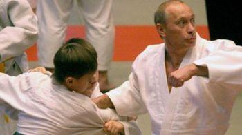 Putin si-a etalat din nou muschii.... la judo! VIDEO: